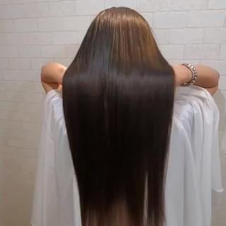 縮毛矯正 ナチュラル ストカール 艶髪 ヘアスタイルや髪型の写真・画像