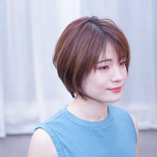 美シルエット かっこいい 簡単スタイリング ショート ヘアスタイルや髪型の写真・画像