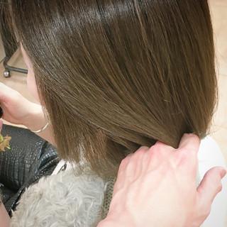 モード オリーブカラー マット オリーブ ヘアスタイルや髪型の写真・画像