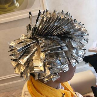 束感 モード ショート メンズヘア ヘアスタイルや髪型の写真・画像