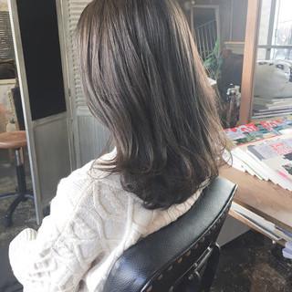 韓国ヘア ヘアカラー フェミニン ヘアアレンジ ヘアスタイルや髪型の写真・画像