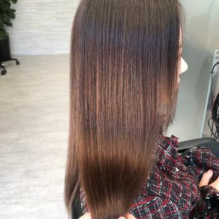 ナチュラル 髪質改善 デート 縮毛矯正 ヘアスタイルや髪型の写真・画像 ヘアスタイルや髪型の写真・画像