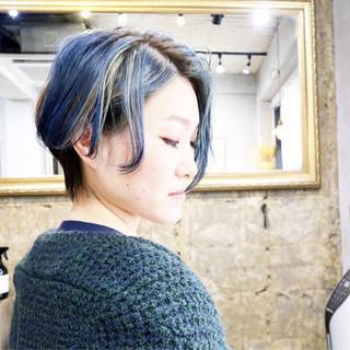 ベリーショート ピンクアッシュ ショートヘア ショート ヘアスタイルや髪型の写真・画像