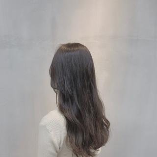 ナチュラル グレージュ アッシュベージュ 外国人風カラー ヘアスタイルや髪型の写真・画像