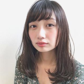 モテ髪 ロブ 外国人風 デート ヘアスタイルや髪型の写真・画像