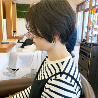 ふんわり ふんわりショート ショートヘア 可愛い ヘアスタイルや髪型の写真・画像 ヘアスタイルや髪型の写真・画像