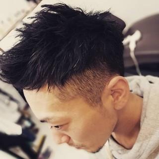 メンズヘア ナチュラル メンズカット ショート ヘアスタイルや髪型の写真・画像