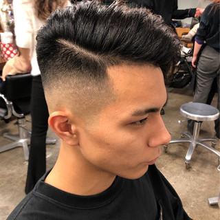 ベリーショート フェードカット メンズ スキンフェード ヘアスタイルや髪型の写真・画像