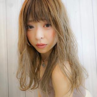 セミロング ヘアアレンジ 女子力 ピュア ヘアスタイルや髪型の写真・画像