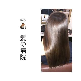 トリートメント ナチュラル 髪の病院 美髪 ヘアスタイルや髪型の写真・画像