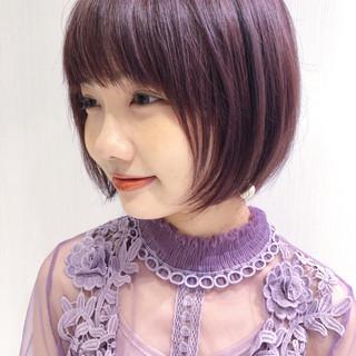 ショートヘア フェミニン ショートボブ ベリーショート ヘアスタイルや髪型の写真・画像