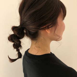河野絵奈さんのヘアスナップ