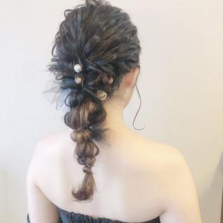 花嫁 ヘアセット 成人式 ロング ヘアスタイルや髪型の写真・画像