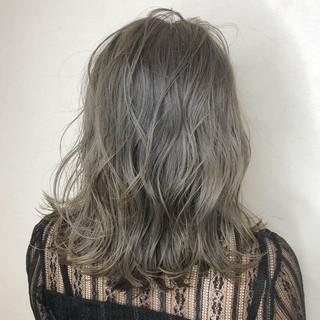 ブリーチオンカラー ブリーチ デート ストリート ヘアスタイルや髪型の写真・画像