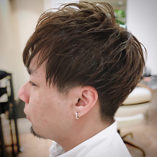 メンズマッシュ メンズ マッシュ ショート ヘアスタイルや髪型の写真・画像