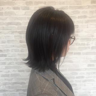ナチュラル ボブ デート ヘアアレンジ ヘアスタイルや髪型の写真・画像