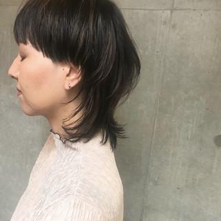 アウトドア 簡単ヘアアレンジ 女子力 モード ヘアスタイルや髪型の写真・画像