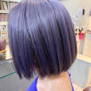 アンニュイほつれヘア 外国人風 ボブ ナチュラル ヘアスタイルや髪型の写真・画像