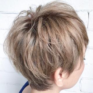 ストリート ベリーショート 女子力 ショート ヘアスタイルや髪型の写真・画像