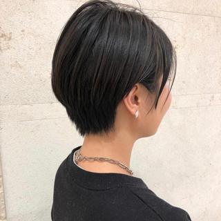 デート 簡単スタイリング 黒髪 ナチュラル ヘアスタイルや髪型の写真・画像