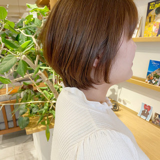 ショート ミニボブ エレガント ショートヘア ヘアスタイルや髪型の写真・画像