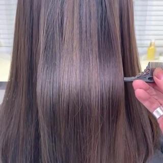 TOKIOトリートメント アッシュグレージュ トリートメント アッシュブラウン ヘアスタイルや髪型の写真・画像
