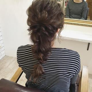 ヘアアレンジ 秋 ナチュラル 女子力 ヘアスタイルや髪型の写真・画像 ヘアスタイルや髪型の写真・画像