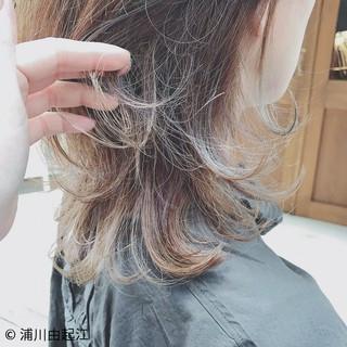 大人かわいい ハイライト ナチュラル ロング ヘアスタイルや髪型の写真・画像