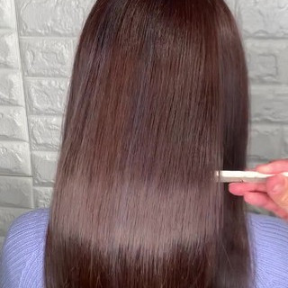 ロング 髪質改善 簡単ヘアアレンジ 美髪 ヘアスタイルや髪型の写真・画像