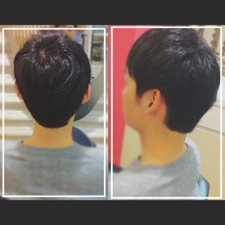 大人カジュアル ベリーショート 大人ヘアスタイル 黒髪 ヘアスタイルや髪型の写真・画像 ヘアスタイルや髪型の写真・画像
