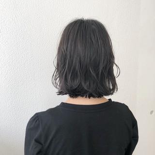 ショート ボブ ショートボブ グレージュ ヘアスタイルや髪型の写真・画像