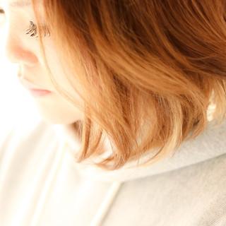 ブリーチ 簡単ヘアアレンジ 透明感カラー ストリート ヘアスタイルや髪型の写真・画像
