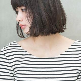 アンニュイほつれヘア デート パーマ オフィス ヘアスタイルや髪型の写真・画像