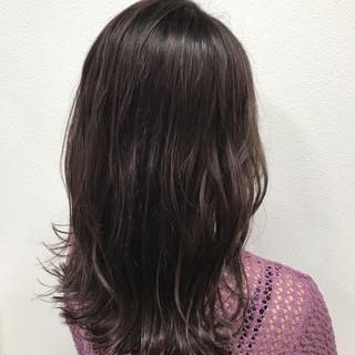 イルミナカラー ゆるふわ ピンク 秋 ヘアスタイルや髪型の写真・画像