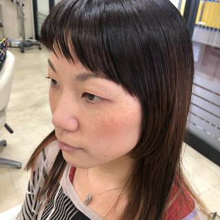ハイライト モード ダメージレス インナーカラー ヘアスタイルや髪型の写真・画像