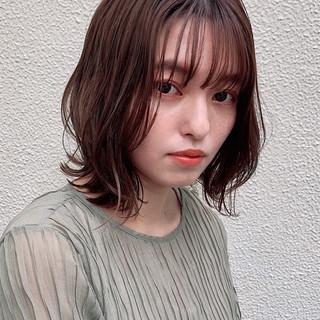 デジタルパーマ モテ髪 デート ナチュラル ヘアスタイルや髪型の写真・画像