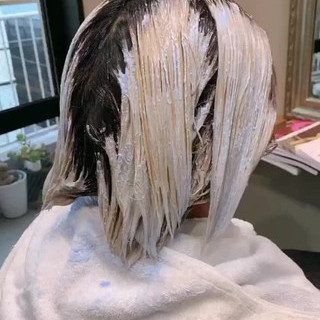 ショート ネイビーブルー ネイビーアッシュ パープルアッシュ ヘアスタイルや髪型の写真・画像