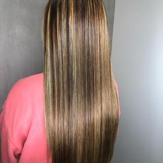 アウトドア 簡単ヘアアレンジ ストレート ストリート ヘアスタイルや髪型の写真・画像