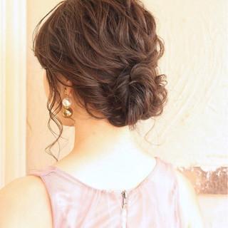ヘアアレンジ パーティ 成人式 結婚式 ヘアスタイルや髪型の写真・画像