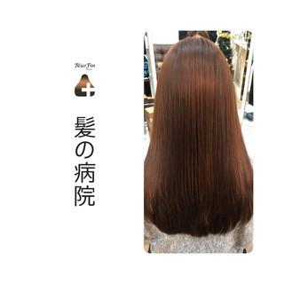 ロング 頭皮ケア ナチュラル 名古屋市守山区 ヘアスタイルや髪型の写真・画像