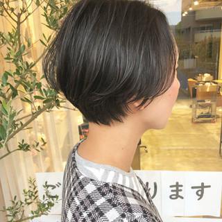 大人ショート ショートヘア ショート ショートボブ ヘアスタイルや髪型の写真・画像