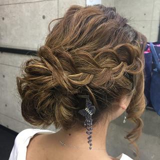成人式 ゆるふわ 結婚式 ヘアアレンジ ヘアスタイルや髪型の写真・画像