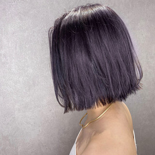 ショートボブ アディクシーカラー インナーカラー ベリーショート ヘアスタイルや髪型の写真・画像