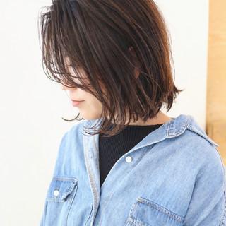 ボブ グラデーションカラー 抜け感 ナチュラル ヘアスタイルや髪型の写真・画像 ヘアスタイルや髪型の写真・画像
