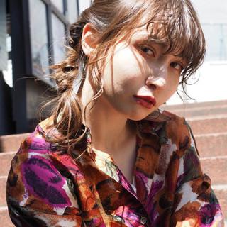 デート モード ヘアアレンジ スポーツ ヘアスタイルや髪型の写真・画像 ヘアスタイルや髪型の写真・画像