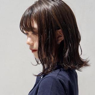 外ハネボブ ショートボブ ナチュラル ミニボブ ヘアスタイルや髪型の写真・画像