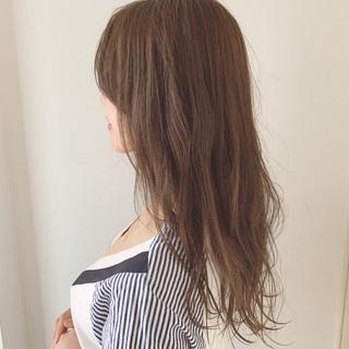 オイル ゆるウェーブ セミロング デート ヘアスタイルや髪型の写真・画像