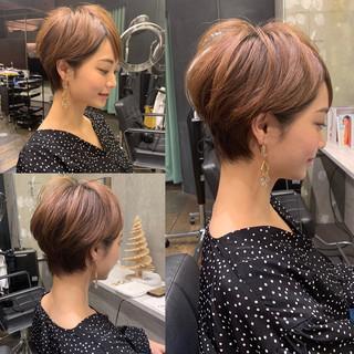 フェミニン 30代 ショート 田丸麻紀 ヘアスタイルや髪型の写真・画像