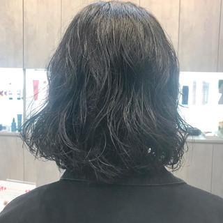 オフィス 外国人風 パーマ デート ヘアスタイルや髪型の写真・画像