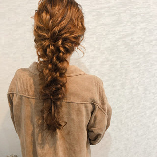 ロング ブライダル フェミニン 結婚式 ヘアスタイルや髪型の写真・画像